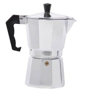 홈 오피스 주방 AUG889 (무료 작은 선물)에 대한 모카 커피 주전자 에스프레소 메이커 알루미늄 가스 레인지 내구성