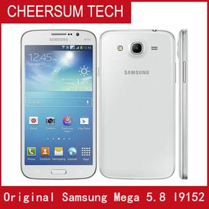 Оригинальный разблокированный Samsung Galaxy Mega 5.8 I9152 Сотовые телефоны Двойные Core 1.5GB RAM 8GB ROM Восстановленные 8MP камера WiFi GPS