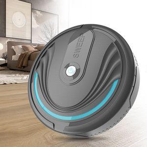 Mini-Roboter-Staubsauger Ultra-Thin-Staubsauger Automatische Haushaltsroboter-Reinigungsmittel Kehrmaschine Staub-Haustier-Haar Mop