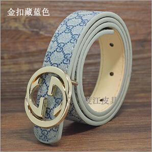 Los niños y niñas se pueden combinar con la moda cinturón y correa de cuero de la PU de la manera ocasional del bebé