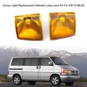 Auto Car Canto luz da lente de substituição Limpar Indicador Lens lâmpada Fit For VW T4 95-03 OE No. 7D0953041C 7D0953042C