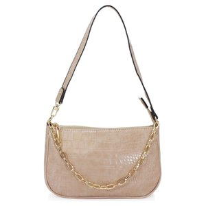 Women's New Sling Bag With Gold Colour Chain Handle. Casual Medium Size.