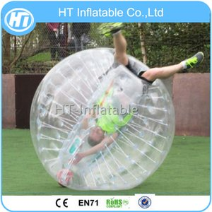 1.5M TPU freier erwachsener menschlicher aufblasbarer Bauch-Körper-Ball-aufblasbarer Stoßluftblasen-Ball Freies Verschiffen