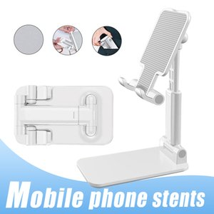 Telefone celular ajustável suporte dobrável suporte do telefone portátil estender o suporte suporte Desk Móveis Phone Holder para o iPhone IPad