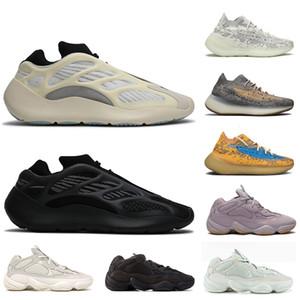 adidas yeezy boost 500 700 v3 380 azael Alvah Womens pattini correnti del mens 380 Alien Mist riflettente Bone White Stone 500 addestratori delle scarpe da tennis