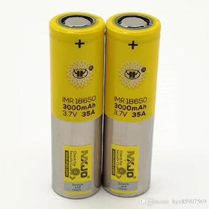 100% Highest quality 18650 Battery 3000mAh 3.7V 35A 18650 Batteries Rechargable Lithium Batteries Fedex Free Shipping