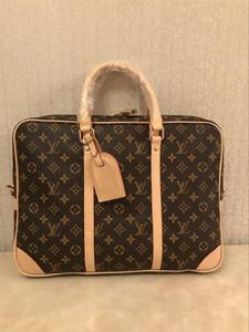 горячие продажи мужская кожа портфель сумка твердые большой бизнес человек сумка ноутбук сумка бизнес сумки мужчины подлинная