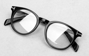 럭셔리 2019 스타 스타일 TF6123 라운드 선글라스 프레임 처방 안경 순수 판자는 편광 된 sunglasse 도매 freeshipping을 accustomized