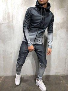 Mens 3D Renk Patchwork Hoodies Kapşonlu Hiphop Sokak Fermuar Spor Tişörtü Tasarımcı Kazaklar Satılık Mens Giyim