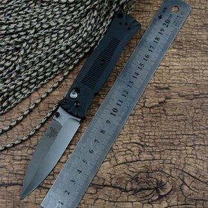 BM eje 530 cuchillo plegable satén latón lámina arandela de mango Zetel herramientas acampar al aire libre cuchillo de caza del bolsillo de la EDC Marca cuchillo para el regalo
