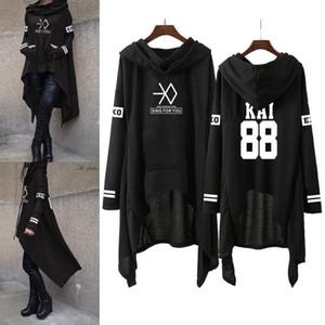 EXO Mode koreanischen EXO DO LAY SE HUN KAI SING FÜR SIE Pullover lose Rock Frauen Harajuku Cotton Sweatshirts Pullover S-XXL