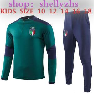 아이들 이탈리아 훈련 정장 (19) (20) 국가 대표팀 아이의 이탈리아는 INSIGNE VERRATTI GHIELLINI에게 운동복 스웨터 긴 소매 축구 소년 운동복