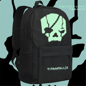 Titanfall zaino Gioco Online IMC FPS Shoulder Bag Uomini Daypack Ragazzi Bookbag Titanfall2