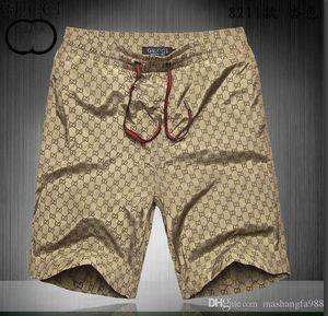 diseñador nueva Junta Pantalones cortos para hombre de la playa del verano de los pantalones cortos g de alta calidad traje de baño Bermudas masculinos Letter vida de la resaca de los hombres de natación Tigre cortocircuitos 82111