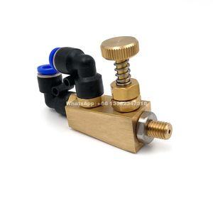 YS Fine Liquid Atomizing Nozzle, Brass material Siphon Air Atomizing Nozzle, Air Atomizing Nozzle