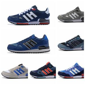 adidas ZX 750 ZX750  zapatillas de deporte de diseño zx 750 para hombre, mujer, blanco, azul, transpirable, deportes al aire libre, trotar, zapatos para caminar, tamaño 36-44