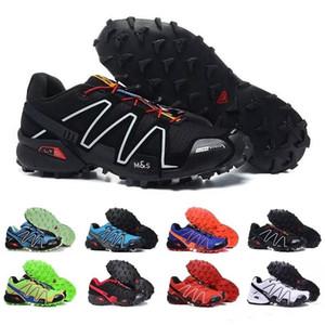 Марка горячие продать Speedcross 3 CS Trail Повседневная обувь женщины легкие кроссовки Военно-Морского Флота Соломон III Zapatos водонепроницаемая спортивная обувь 36-46 Salomon solomon CS