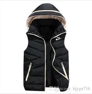 Wholesale - NK Brand Vest Men New Stylish Autumn Winter Warm Sleeveless Jacket Army Waistcoat Men&039;s Vest Fashion Casual Coats Mens Windp