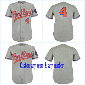 Portland Beavers 1968 Maillot Route Film Baseball Jersey 100% Cousu Nom Nombre Pour Hommes Femmes Mix jeunesse ordre S-XXXL