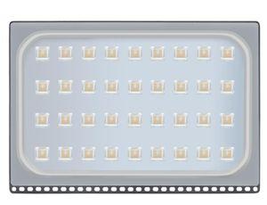 ABD led Flood Lambalar Sensör 200W Su geçirmez IP65 Açık Işık 110-120V Beyaz Led Projektör lambası Ev Bahçe Alt Dış Balkon Lam Soğuk