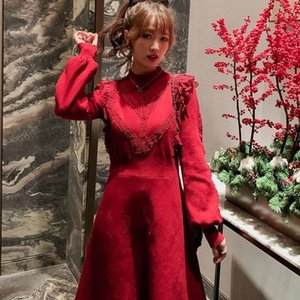 Female Slim Fashion Mother Elegant Autumn Winter Sweater Dress Women Sexy Bodycon Long Sleeve Solid Basic Knitted Dresses E18