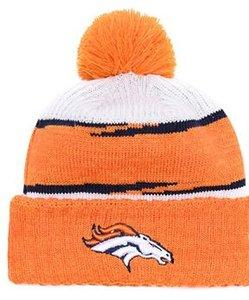 Top venda Denver beanie DEN beanie Sideline tempo frio reverter esporte Cuffed Knit Hat com Pom Winer Crânio Cap 01