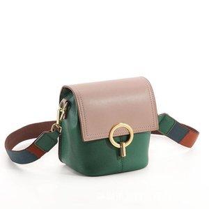Luxurious2019 Bag Small Broadband Woman Genuine Leather Bucket Package Joker Single Shoulder Cowhide Oblique Satchel