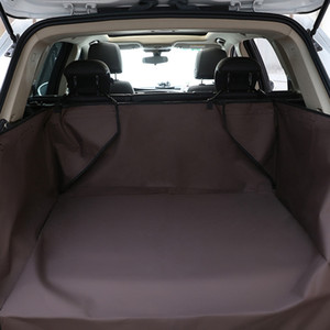 Pet Car Cover Waterproof Dog Trunk Mat Pet Cargo Liner Cover Car Trunk Protector Back Seat Cover For SUV Pet Barrier