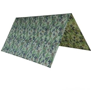 Ultralight Camouflage Sun Shelter Anti Ultraviolet Radiation Beach Tent Waterproof Awning Folding Camping Sunshelter 100*145cm Hiking and C