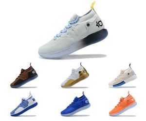 Sıcak Young Boys 11. Nesil Yıldız Basketbol Boots Meme 5 Sao Toz 12 Mandarin Nesil Kısa Versiyon 10 Buz Mavi Erkekler Ayakkabı Ördekler