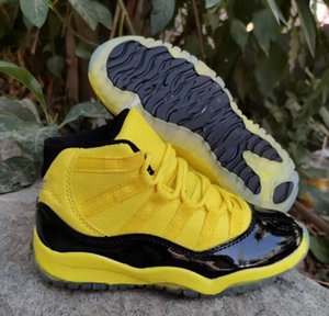 Kids 11 Basketball Shoes 72-10 Bred Concord GS Heiress Suede Maroon Gamma Blue Pink 11s Sports Athletic Sneakers 28-35