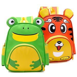Cute Owl Animals Baby Backpack Kids Toddler Mochilas escolares para niñas 3-5 años Niños ZOO familias Kindergarten Bag