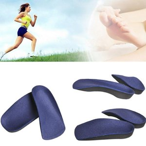 Foot Arch Half Pad Correction 3 4 Orthotic Arch Support Insole Shoe Cushion Pad Running Feet Pronation Fallen