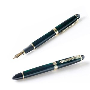 Metal Fountain Pen Without Pencil Box luxury school Office Stationery luxury Writing Cute pens gift