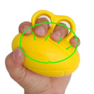 Giallo Hand Grip Formazione dito Forza ginnico Grip dell'anello di barretta di esercizi di allenamento Trainer mano attrezzature per il fitness pinze