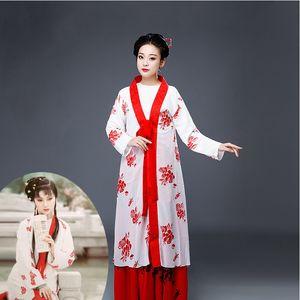 Élégant TV Film Performance Vêtements Femmes Ancienne Fée Robe Costume Traditionnel Costume Hanfu Costume Hanfu usure sur scène