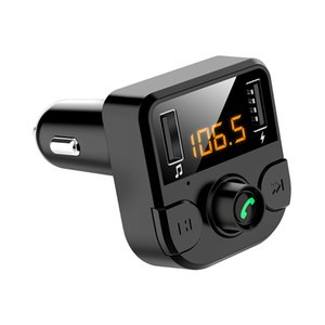Newest Car Bluetooth FM Transmitter Wireless Handsfree Audio Receiver Auto MP3 Player 3.1A Dual USB Fast Charger Car Accessories