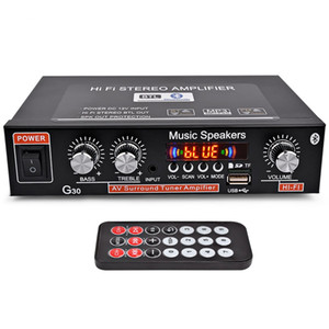 Amplificatore auto AIYIMA 12V Hi-Fi 2.0 Canali Auto Audio digitale Amplificatori Bluetooth Supporto FM TF Card U Disk Remote Car Home