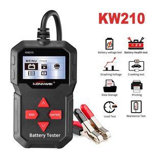 Automatische Smart-Auto-12V-Batterie-Tester Auto-Batterie-Analysator 100 bis 2000CCA Cranking Car Battery-Tester