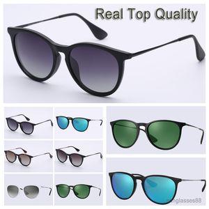 Forme las gafas de sol de alta calidad vidrios polarizados mujer de lentes para las mujeres señoras de los hombres 2020 des Gafas de sol con la caja vierten Hommes