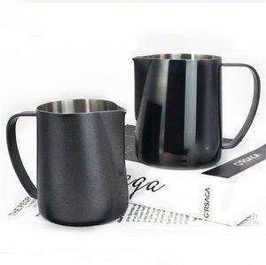 Edelstahl Aufschäumen von Milch Krug Espresso-Kaffee-Pitcher Barista Teflon Kaffee Latte Milchschäumer Krug Pitcher Für Barista