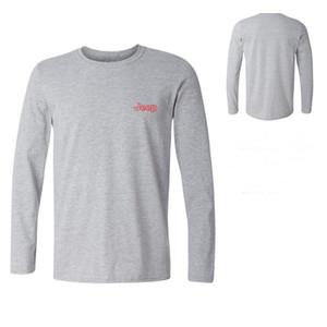 Algodão T-Shirt Dos Homens AFS JEEP Marca Casual Roupas 3D Camisetas Do Exército Tático T-Shirt Estilo Militar dos homens de Manga Longa Tee