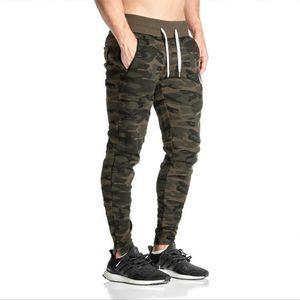 Camouflage Streetwear Harem Pantalons pour hommes Casual Slim Fit Sweatpants hommes multi-poches Camo hommes Joggings gros