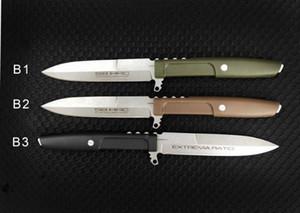 نسبة extrema مستقيم سكين d2 بليد g10 مقبض 60hrc ثابت بليد الصيد التخييم بقاء سكين هدية عيد سكين 1 قطع