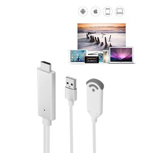WiFi Kablosuz MiraScreen Video Adaptörü, kablosuz HDMI Dongle 1080 P HDTV Medya Ekran Adaptörü HDMI TV Miracast DLNA Airplay