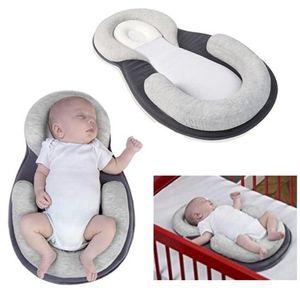 베이비 고정 관념 베개 유아 신생아 전복 방지 매트리스 베개 0-12 개월 아기 위치 패드면 베개 잠자는