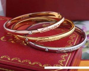 kk Marques DESIGNERS simples titane acier collier or rose 18 carats SilveCartier avec boucles d'oreilles de célébrités de tendance féminine bracelet