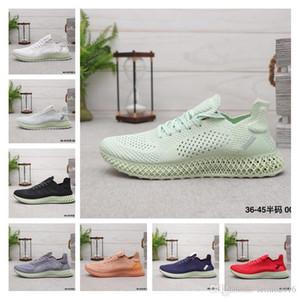 Yüksek Kaliteli 2019 Aero Yeşil Daniel Arsham Gelecek 4D Futurecraft Casual Ayakkabı Erkekler Kadınlar Sneakers Boyut 36-45 x