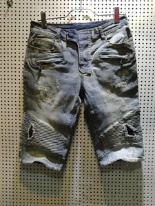 2020 Summer New Men's Designer Jeans Shorts Casual Solid Classic Straight Denim Fashion ripped Men jeans