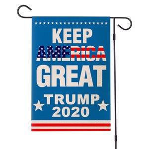 30*45cm 2020 Trump Joe Biden Flag US America Presidential Election Polyester Decor Banner Keep America Great Banners Flag 100pcs T1I2025
